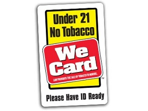 Under 21 No Tobacco
